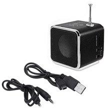 цена на TD-V26 Portable Micro TF USB Mini Speaker Music Player Portable FM Radio Stereo mp3 phone Laptop MP3 MP4 Player Mini Speaker