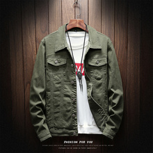 2019 New Fashion Men slim Fit Denim Jacket Coat Cowboy Cotton Single Breasted Jackets Casual Spring Male Coat S-XXXL maggie carpenter cowboy s rules