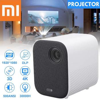 XIAOMI Mijia proiettore MINI TV Full HD 1080P 3D LED AI 2 8GB 30000 Wifi bluetooth SJL4014GL DLP completo per teatro versione globale