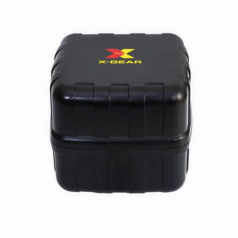 X-GEAR 1Pcs Original ของขวัญกล่องสำหรับกีฬานาฬิกานาฬิกาผู้ชายอุปกรณ์เสริม LED ดิจิตอลกล่องนาฬิกาคู่นาฬิกากระเป๋าป้องกันกล่อง