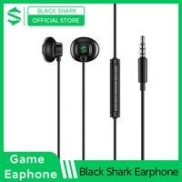 Black Shark 3.5mm Gaming Earphone Half In-Ear Professional Game Headset For Redmi Poco F2 Pro X3 Black Shark 3 Pro 1