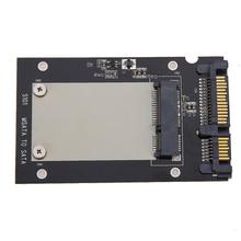 Evrensel mSATA Mini SSD 2.5 inç SATA 22 Pin dönüştürücü adaptör kartı Windows2000/XP/7/8/10/Vista Linux Mac 10 OS
