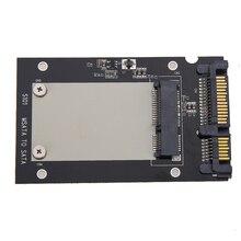Universal mSATA Mini SSD to 2.5 inch SATA 22 Pin Converter Adapter card for Windows2000/XP/7/8/10/Vista Linux Mac 10 OS