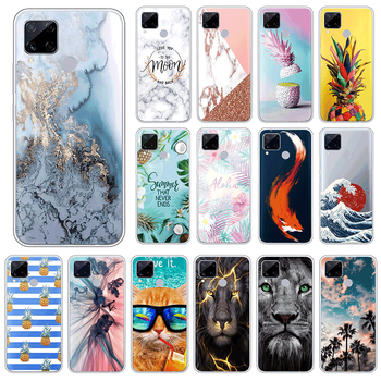 For Oppo realme C15 4G Soft TPU Case For Oppo realmeC15 C 15 Phone Cases 6.5 Silicone Back Cover Shockproof Coque Fundas Shell image