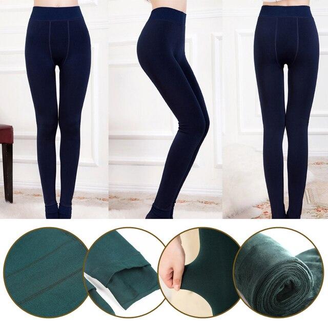 Velet Leggings for Women Thick Warm Stockings 5