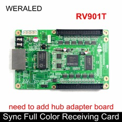 Linsn RV901T Synchronous Full Color Receiving Card,Work with TS802 card to support P2.5 P3 P4 P5 P6 P7.62 P8 P10 LED Module