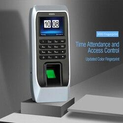 Czytnik linii papilarnych czas obecności rozpoznawanie linii papilarnych hasło mechanizm otwierania drzwi System kontroli dostępu pracownik sprawdzanie VH99
