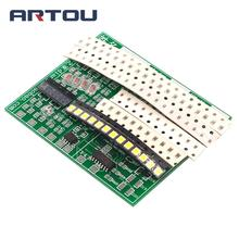 (Welding practice) SMD Component Board CD4017 Water Light Kit Skills Training Entry Electro