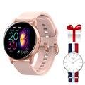 2019 Смарт-часы IP68 Водонепроницаемые носимые устройства умные фитнес-трекер спортивные Смарт-часы для мужчин  женщин и детей для Android IOS