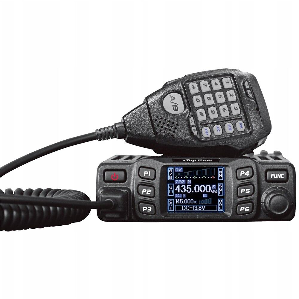 Mini Radio móvil con transceptor de banda Dual AT-778UV de cualquier tono
