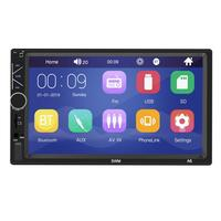 New A6 7 inch 16G HD Bluetooth MP5 and MP4 player support card U disk mobile phone interconnection MP3 radio integrated host