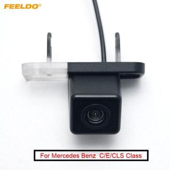 FEELDO Car Rear View Backup Reverse Camera For Mercedes Benz C/E/CLS Class S203/W203/W211/S211/W300/C219/W219/CLS550/CLS300/320