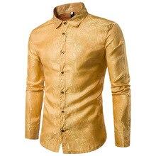 Shirts Costume Personality  Hombre Fashion Men Nightclub MOOWNUC Winter Autumn Male Long Sleeve Slim Casual