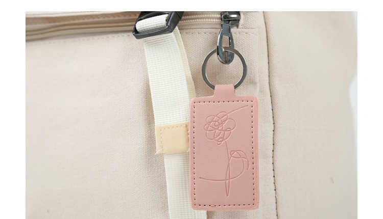 KPOP Keychain ורוד Bangtan בני שרוך אוהב את עצמי מפתח שרשרות באיכות גבוהה V JUNGKOOK JIMIN RM Keyring מפתח שרשרת טבעת k-POP