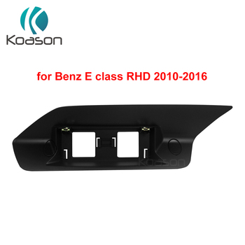 Black Plastic frame base stand for BENZ E Class (RHD LHD) W212 S212 Android GPS Original Screen Bracket image