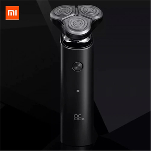 Image 1 - New Mijia Mens Electric Shaver S500 Rechargeable 3 Heads Type C Wet Dry Shaving Machine Beard Trimmer Washable Double Blade