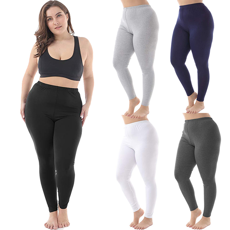 Plus Size Women Legging Autumn Winter High Waist Workout Long Pants Casual Thick Warm Knitted Mujer Long Pants