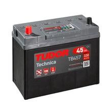 Tudor TB457 Batería de coche - 12 V 45Ah 300 A (EN) - Positivo a la Izquierda - Medidas: 23,7 X 12,7 X 22,7