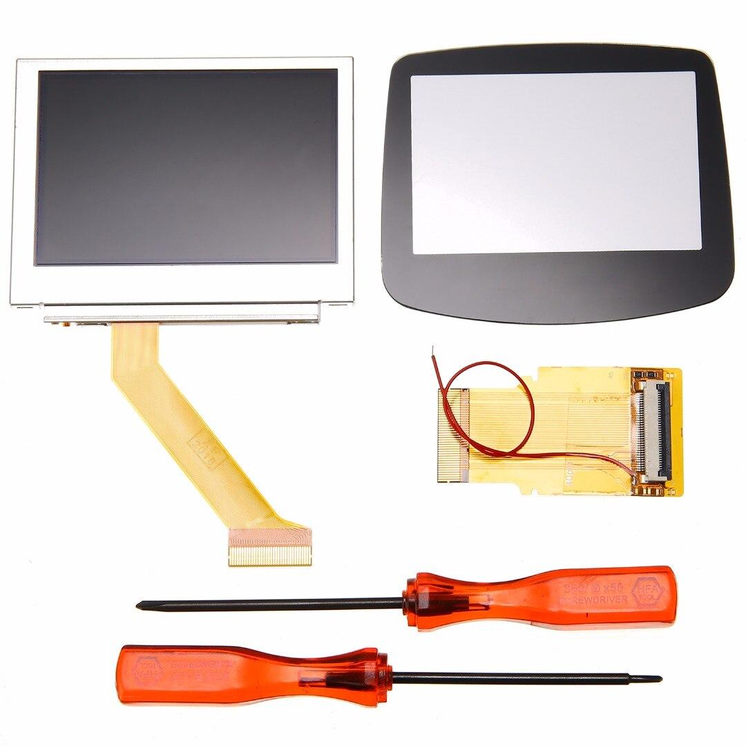 Игровой консоли хост 32/40 Pin с подсветкой экран мод ЖК подсветка комплект адаптер для GBA SP AGS 101 дисплей