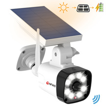 Dummy-Camera Solar-Power Surveillance-Cctv Outdoor Security Bullet Waterproof PIR Motion-Detection