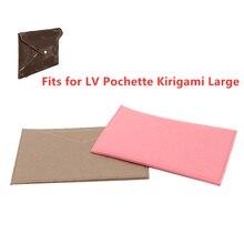 Подходит для Kirigami Pochette, органайзер с цепочкой, сумка через плечо, дизайнерская сумочка, внутренняя косметичка, маленькая вставка Kirigami