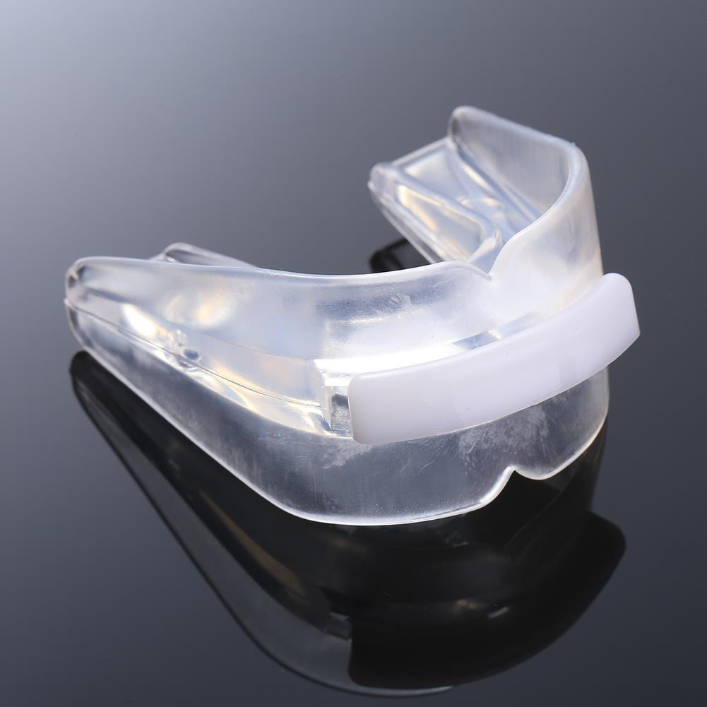 Transparent Mouth Guard Teeth Protector For Rugby Boxing Safe Silicone