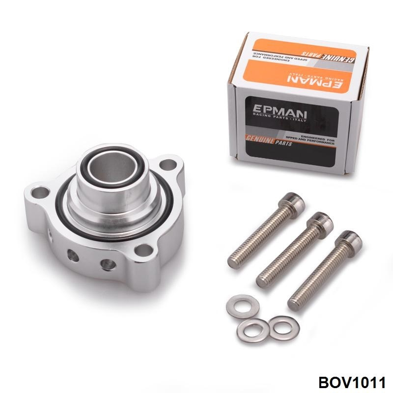 Bolt-On Top Mount Turbo BOV Blow Off Valve Valvola di Scarico Adattatore Per BMW Mini Cooper S Turbo motori EP-BOV1011