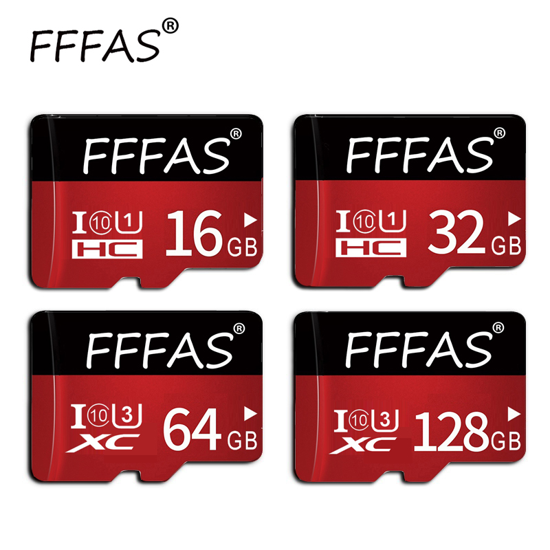 Fashion Fast Transmission Memory Card 32GB 64GB 128GB Class 10 Micro SD Card 8GB 16GB Mini TF Card With Gift Adapter For Camara