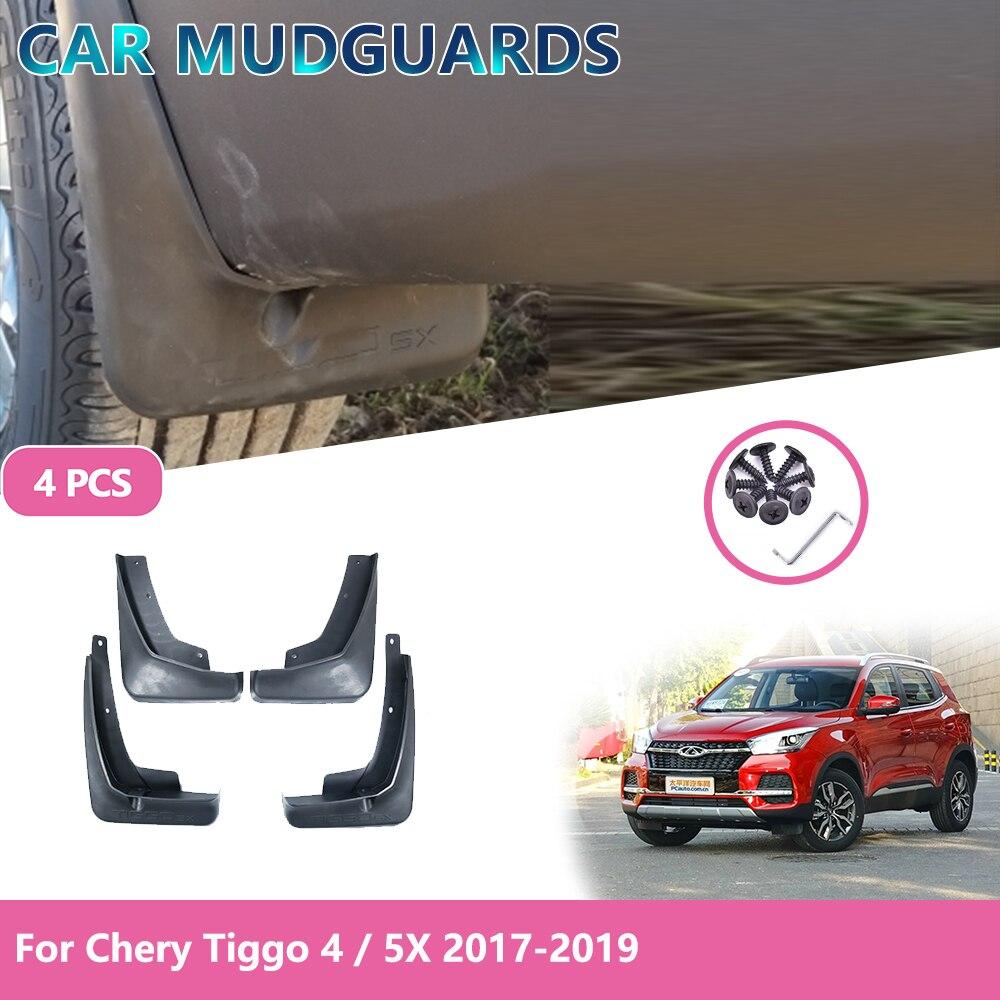 For Chery Tiggo 4 Tiggo 4 5X Car Front Rear Protection Mudguards Accessories Fender Mud Guard Splash Mudguardsor 2017 2018 2019(China)