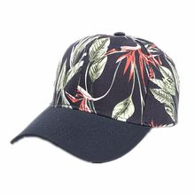 Бейсболки унисекс кепка с козырьком Солнцезащитная шапка цветочным