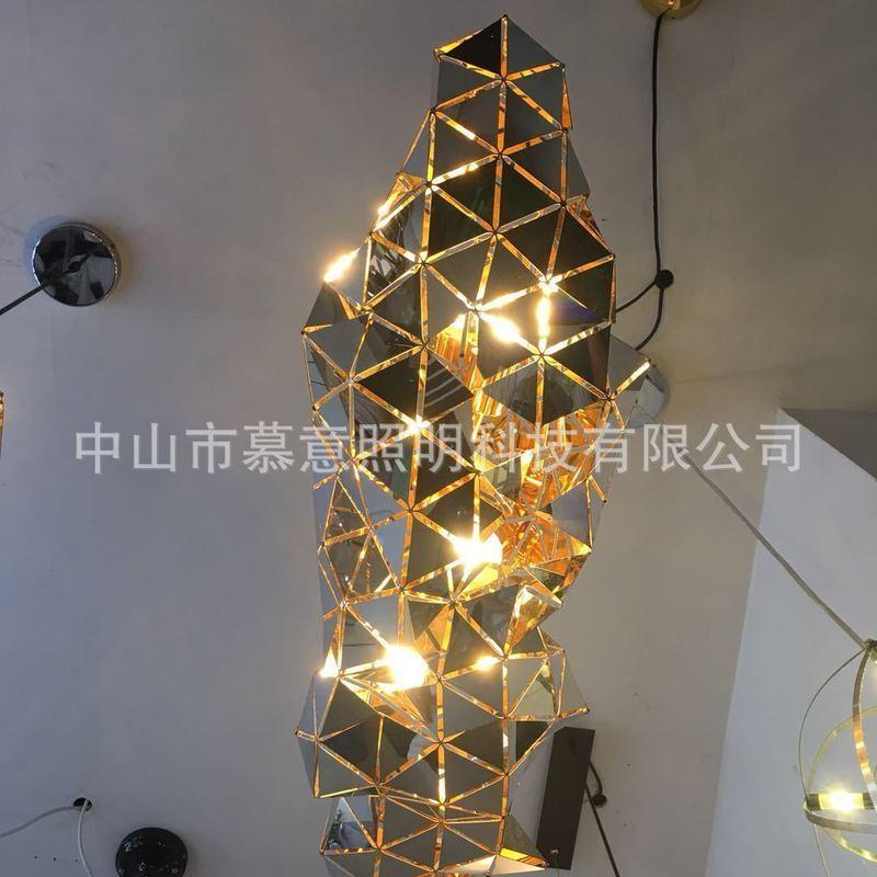 Suspension Lustre Hang Modern Vertigo Lamp Fiberglass/polyurethane Pendant Light Dining Room Living Room Lamps Bar Cafe Room