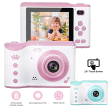 2.8 inch Touch Screen Mini Kids Camera HD 1080P Digital Video Photography Zoom LED Flash Vlog