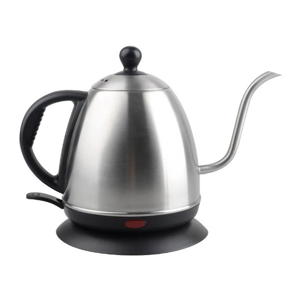 Ecocoffee 220 فولت Gooseneck براعم طويلة غلاية قهوة كهربائية المنزلية V60 صانع القهوة باريستا الملحقات