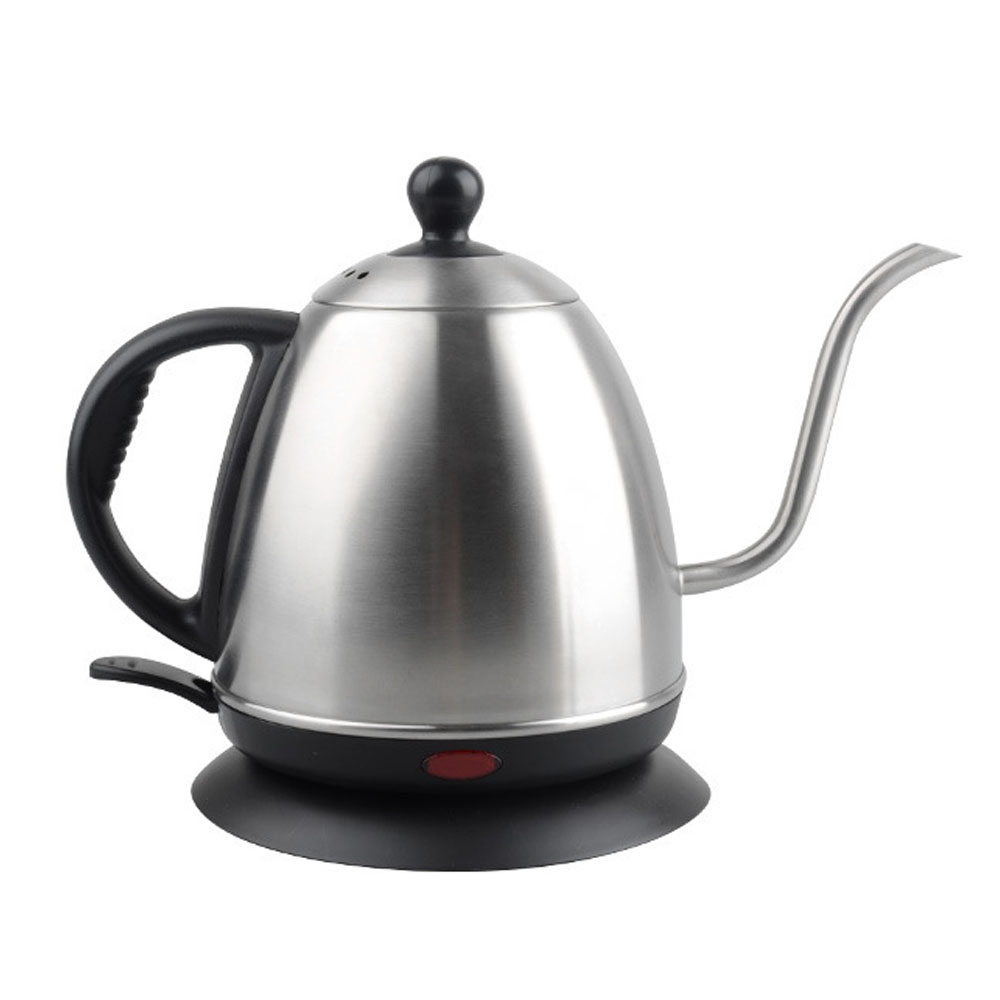 Ecocoffee 220V Gooseneck Long Sprouts Electrical Coffee Kettle Household V60 Coffee Maker Barista Accessories