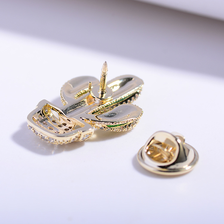 Bad Guy Zircon Brooches for Women's Brooch Pin Fashion Pins Accessories for Clothes Decoration Brooch Pins Metal Cactus Broche-4