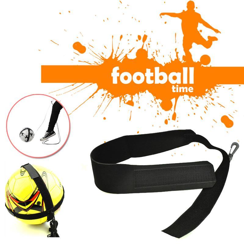 Durable 200*8*3cm Black Fashion Player Belt Training Belt Soccer Goods Kids Soccer Rope