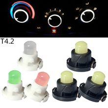 Panel de instrumentos de iluminación LED para coche, 10 Uds., T3, T4.2, T4.7, Chip1SMD