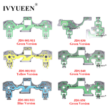 IVYUEEN for PlayStation 4 PS4 Pro Slim Controller Conductive Film Keypad flex Cable for Dualshock 4 Ribbon Circuit Board JDS 050