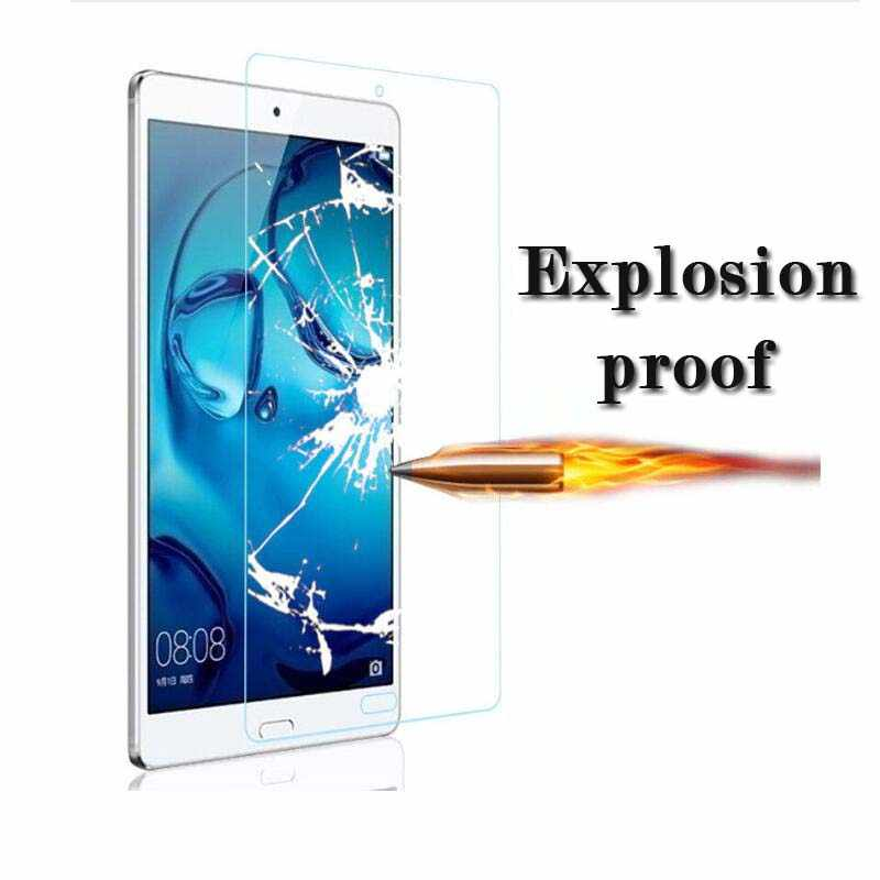 Tablet Pelindung Layar untuk Huawei MediaPad Media Pad T2 7.0 8 Pro T3 10 7 3G 7 Akses Internet Nirkabel 9H 2.5 D Tempered Glass untuk M2 Lite 7