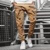 Streetwear Hip hop Joggers Pants Men Loose Harem Pants Ankle Length Trousers Sport Casual Sweatpants White Techwear  1.13 7