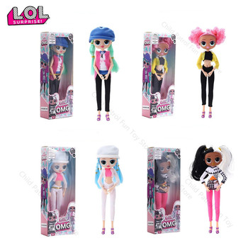 LOL Surprise Omg Joints Can Move Swag Lol Dolls Fashion Doll Girlfriend Kids Toys for Children Birthday Girls Party Gifts