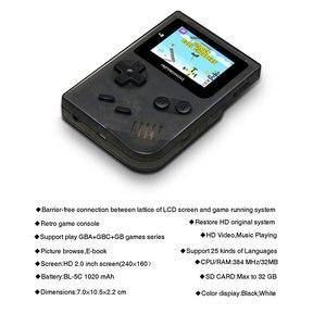 Image 3 - ANBERNIC miniconsola de videojuegos Retro, 99 videojuegos, consola de juegos Retro, regalo familiar