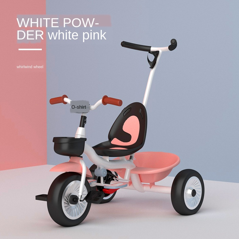 Infant Child Tricycle Kids Bike Baby Walker With Music Three Wheels 1-6 Years Old Gift for Baby Toys Balance Car Carrycot
