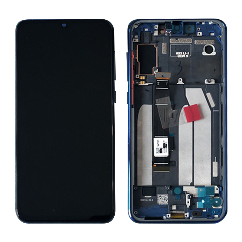 Super AMOLED LCD For Xiaomi Mi 9 SE Mi9 SE LCD Display Touch Screen Digitizer Assembly + Frame