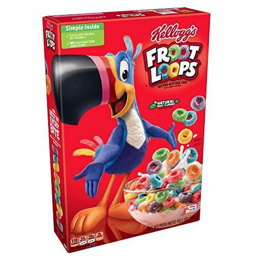 Kellogg's - Froot Loops (cereales Americanos) - 1 X 286 Gramos