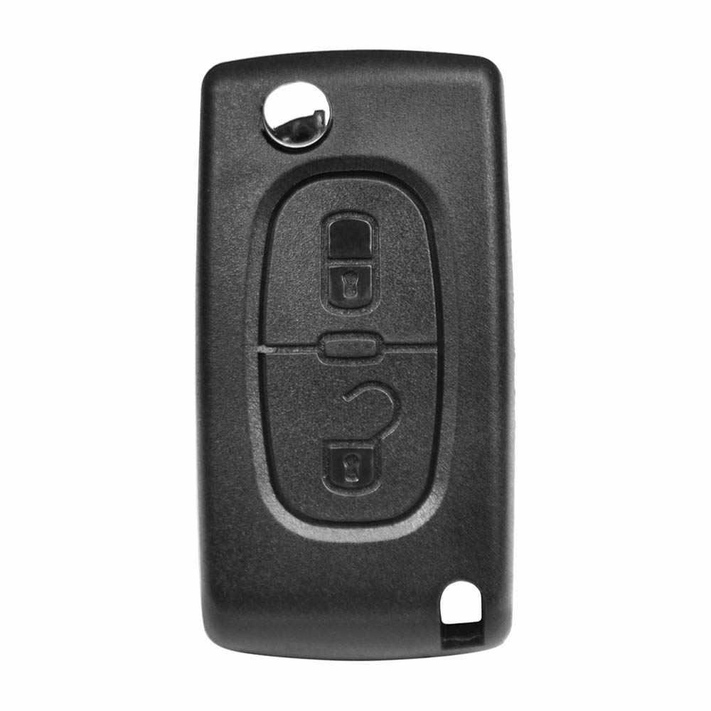 Klucz samochodu zdalnego Klapki KLUCZ futerał 2 przyciski CE0523 CE0536 Peugeot 308 207 307 3008 5008 807 Citroen C2 C3 C4 C5 C6 C8