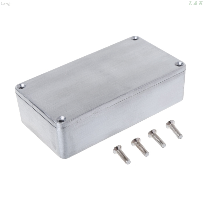Effect Aluminum Box Metal Electrical Case Guitar Instrument Enclosure DIY