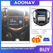 Lecteur multimédia vidéo et Radio pour Chevrolet Cruze 2013, avec fonction MyLink, stéréo, Navigation GPS, enregistreur cassette, 2 Din