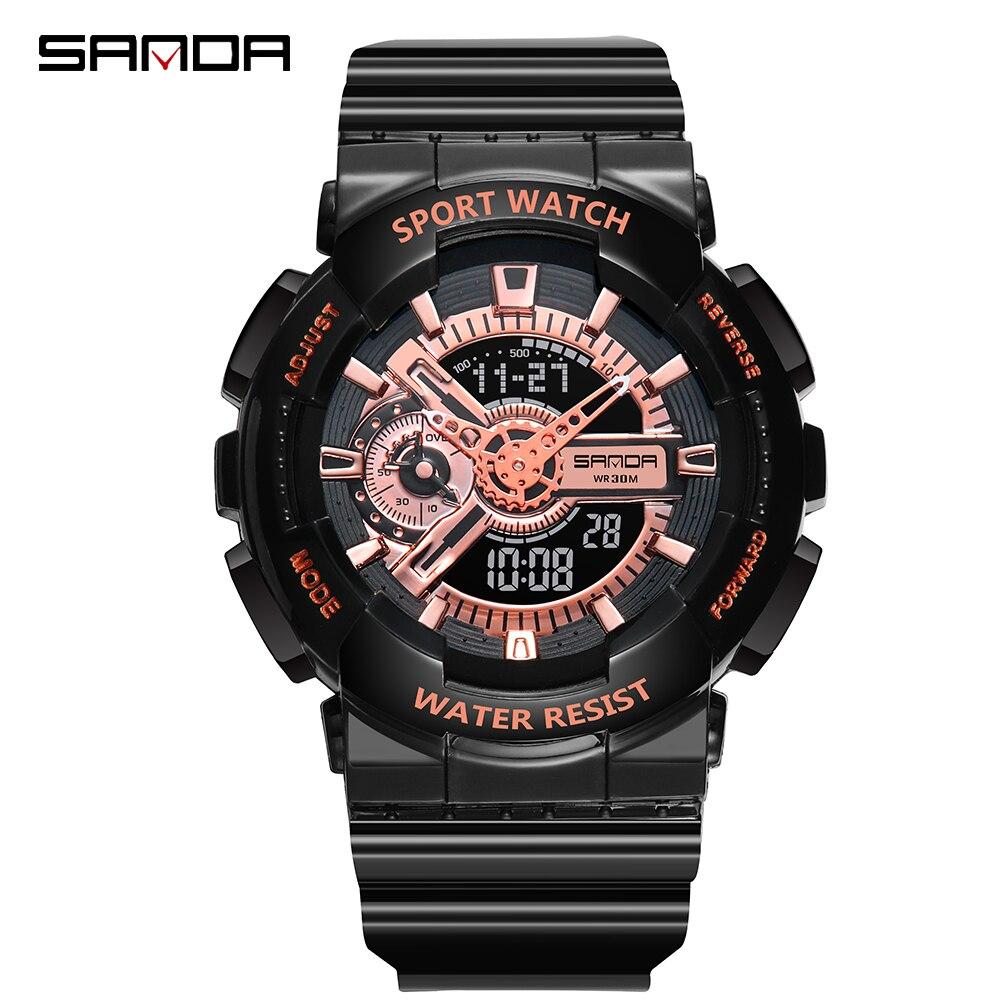 Mens Sports Watches G Style Military Waterproof Wristwatches Shock Analog Quartz Digital Watch Couples Relogio Masculino Reloj