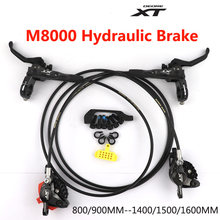 DEORE XT M8000 M8100 M8120 Brake Mountain Bike Hydraulic Disc Brake MTB ICE-TECH Left & Right 800/900MM-1400/1500/1600MM()